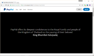 paypal-mourning-passing-away-of-hm-the-king