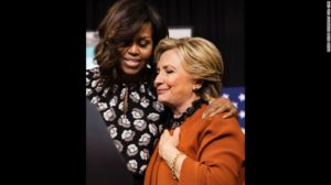 first-lady-michelle-obama-hugs-hillary-clinton-at-a-rally-in-north-carolina