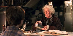 John Hurt in Harry Potter