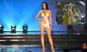 Miss ThailandChalita 'Namtan' Suansane with Miss Univers Iris
