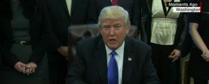 US President Donald Trump on travel ban