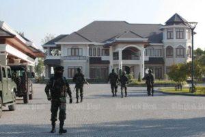 Alleged Helmet Gang leader's house