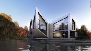Dynamic DHaus, rotating house in Germany