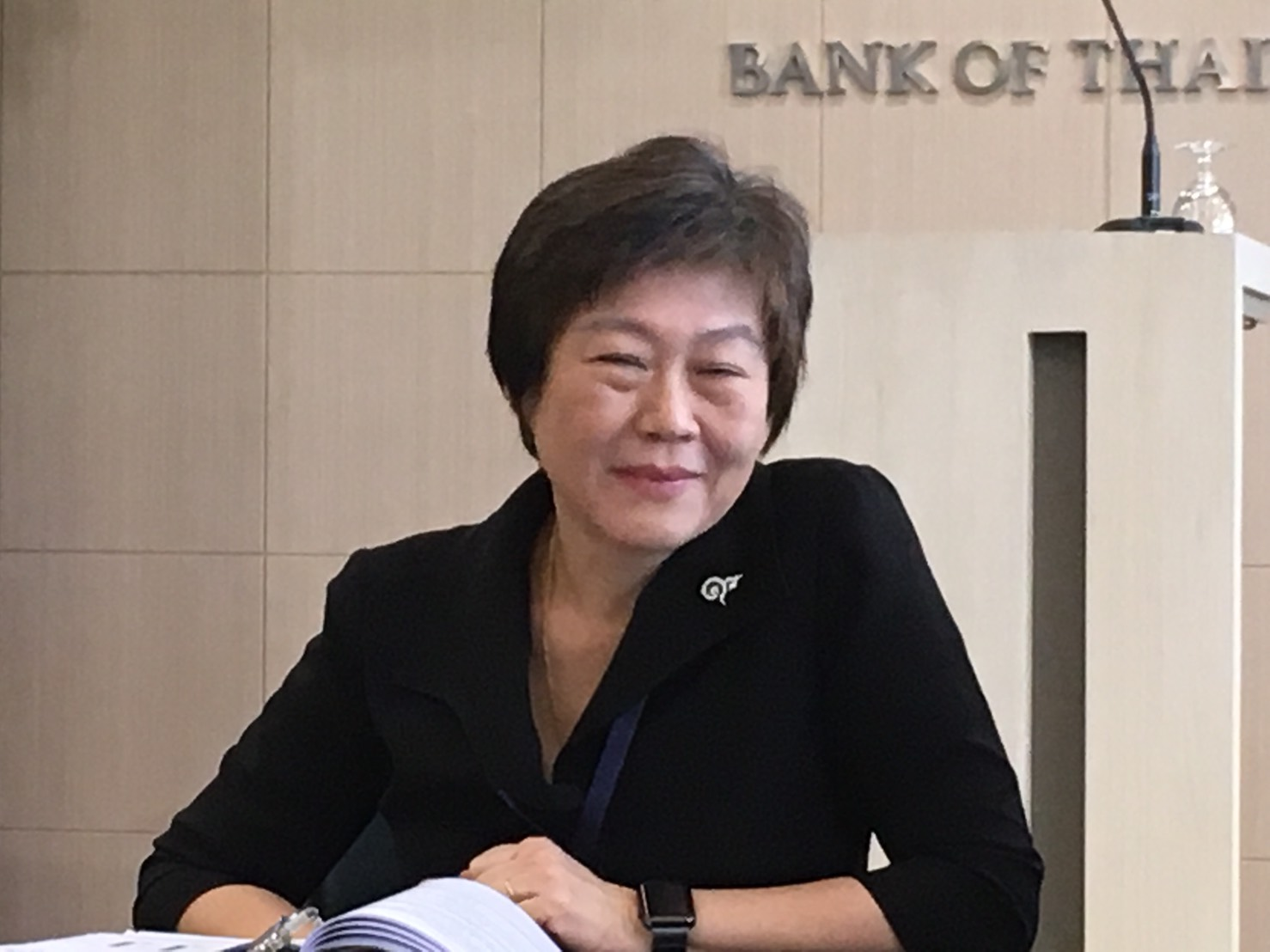 Nisarat Trairatvorakul of Bank of THailand