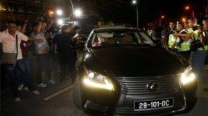 North Korea embassy cars leave Kuala Lumpur hospital after killing