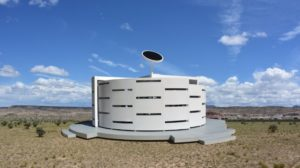 The Rotating Radius House, New Mexico