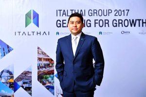 Italthai Group CEO Yuthachai Charanachitta
