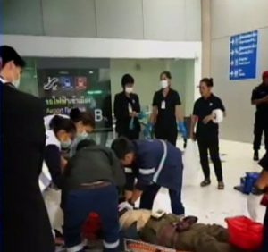 Man falls Suvarnabhumi