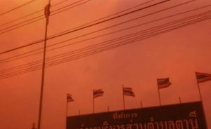 Storm rips through Surin