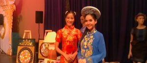 Models at Khon Kaen fair