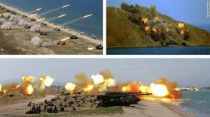 North Korea live-fire drill,two