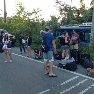 Tourists going to Koh Pha Ngan unharmed by accident