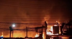 Fire in Lopburi