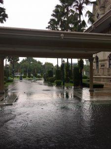 Govt House flooded