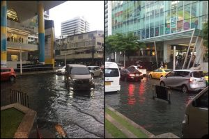 Siam Sqaure flooded