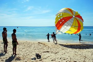parasailing in Phuket - cr. Harsha K. R.