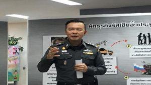 Immigration Police head Pol. Lt. Gen. Nattathorn Prousunthorn