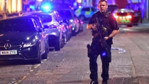 London attack four