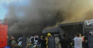 Pub fire