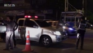 Chonburi police break up auto race