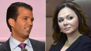 Donald Trump Jr with Russian lawyer