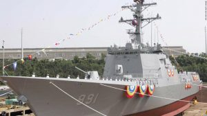 South Korean destroyer
