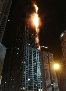 Capture fire Dubai