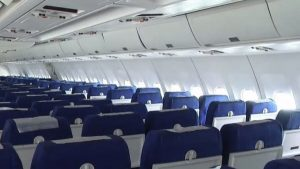 Airbus passeger cabin